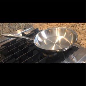 Williams Sonoma SS skillet. Made In ITALY